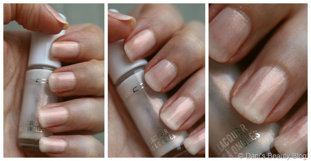 NOTD vom 12.09.2014 - MAC - Nail Lacquer Frost - Much Adored