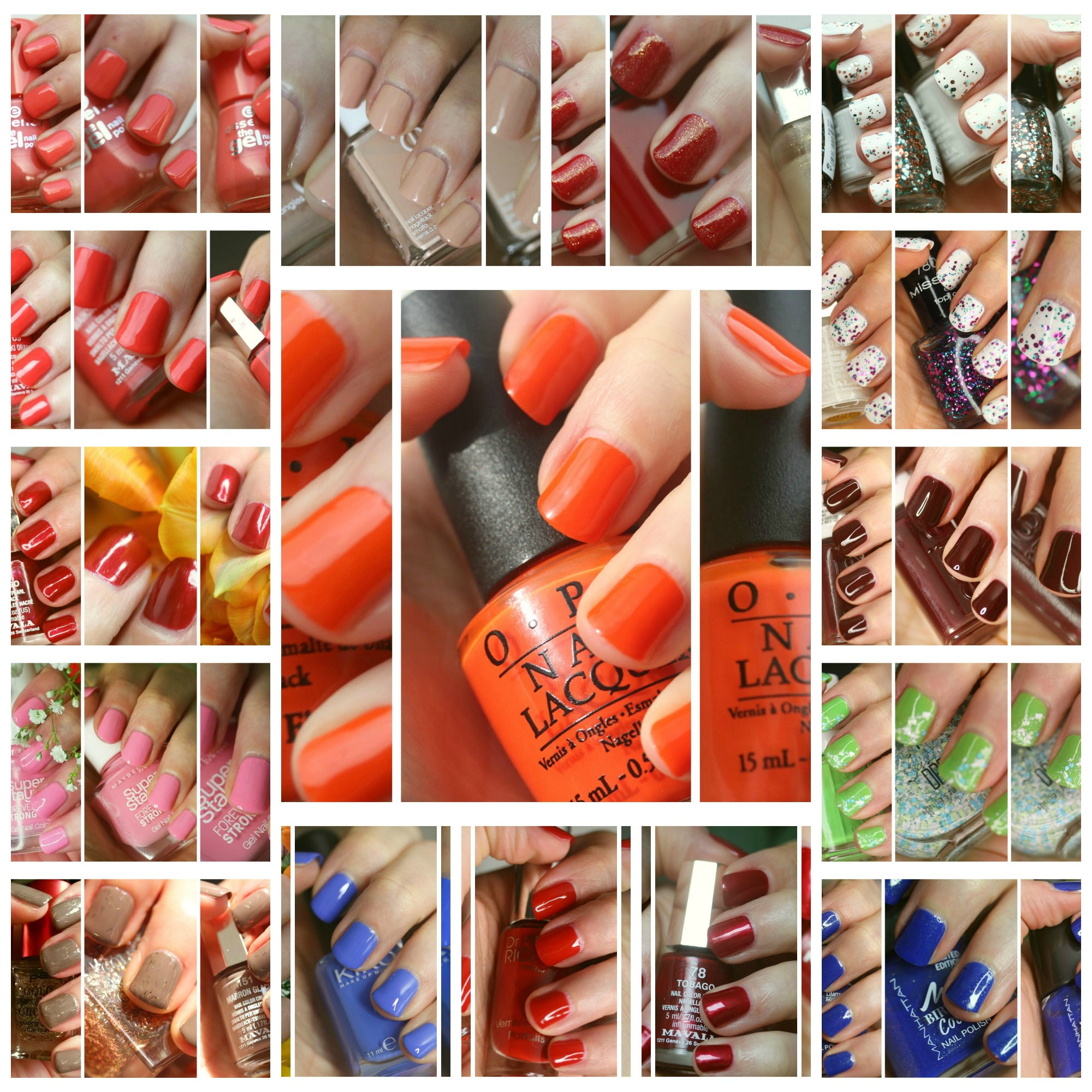 Monthly Nails: March + April 2015