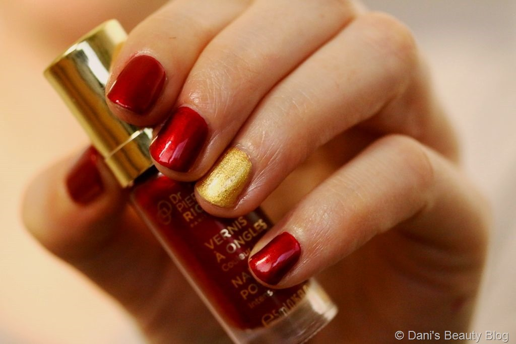Holiday Look Red Eyes, Lips & Nails (14)