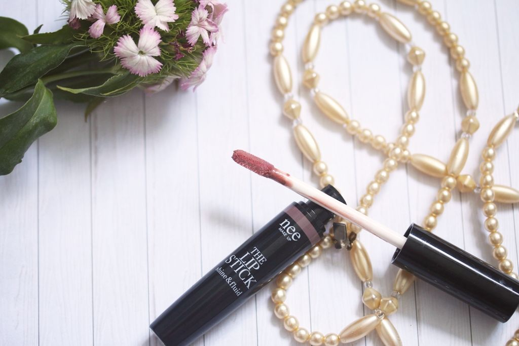 nee MAKE UP MILANO - The Lipstick shine & fluid rokoko