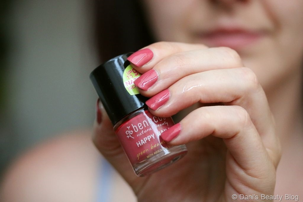 NOTD vom 29.07.2018 benecos – Happy Nails – flamingo