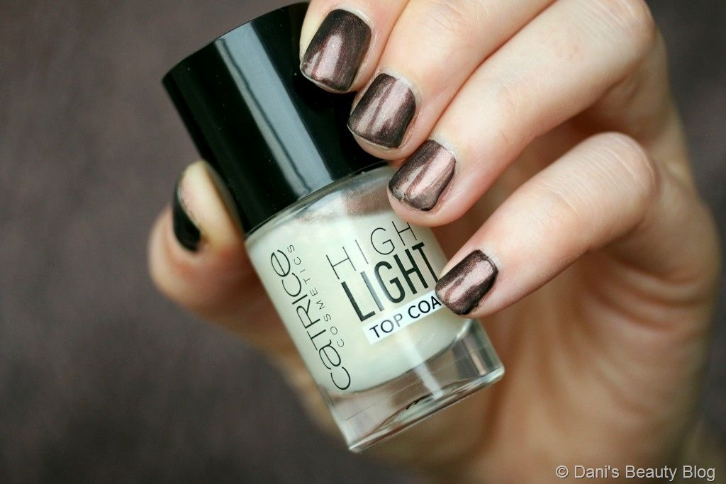 NOTD vom 02.05.2018 Misslyn – 510 Catrice – High Light Top Coat (1)